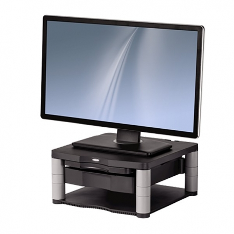Fellowes 9169501 Premium Monitor Riser Plus