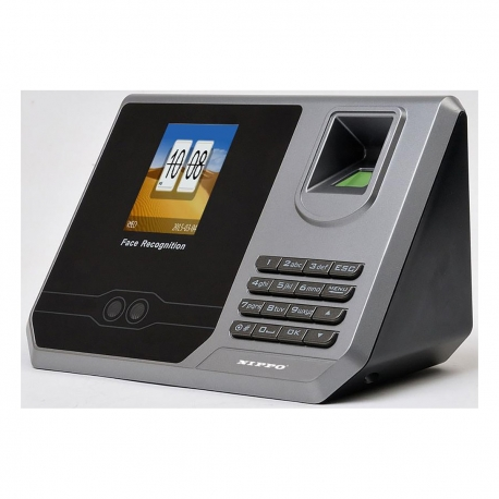NIPPO TA-395 Face + Fingerprint Time Attendance System