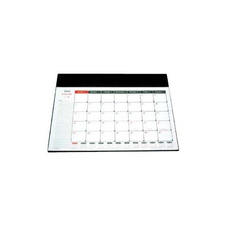 2019 大班檯墊連月曆套裝 15吋x21.5吋 黑色