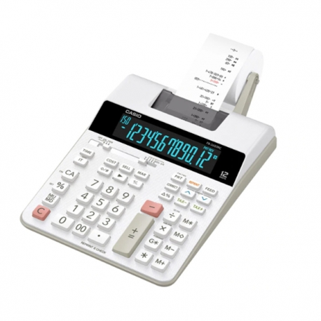 Casio FR-2650RC 2-color Print Calculator 12 Digits