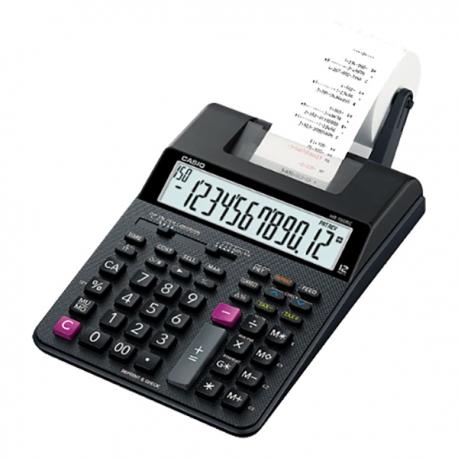 卡西歐 HR-100RC 雙色出紙計數機 12位
