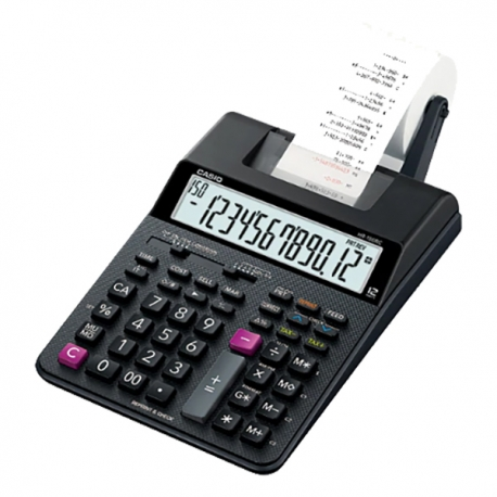 Casio HR-100RC 2-color Print Calculator 12 Digits