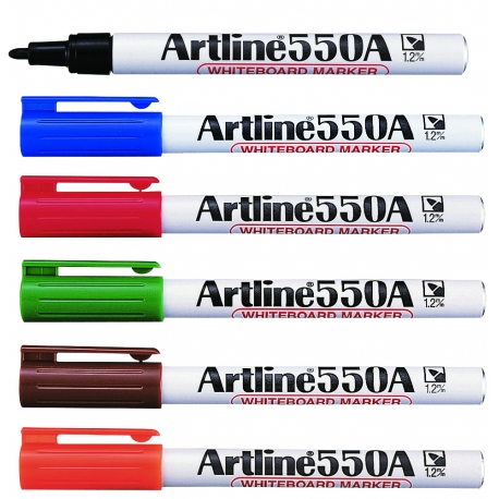雅麗 EK-500A 白板筆 黑色/藍色/紅色/啡色/綠色/橙色