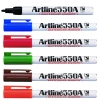 Artline EK-500A Wyteboard Marker Black/Blue/Red/Brown/Green/Orange