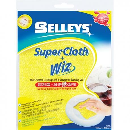Selleys 301011yellowP Super Cloth + Wiz 180x230mm