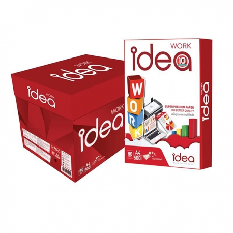 (**10CTNS extra discounted) Idea Work Super Premium Copy Paper A4 80gsm