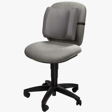 Fellowes 91905 High Profile Back Rest - Grey
