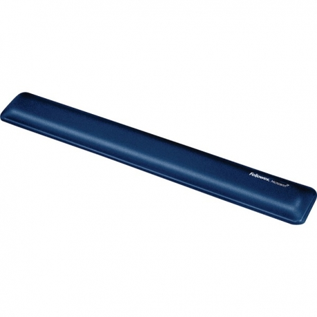 """Fellowes 9175601 Blue Gel Wrist Rest w/Microban - Sapphire"""