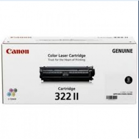 Canon 322IIB Toner Cartridge Black