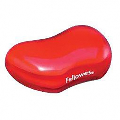 Fellowes 91677 Red Crystal Gel Flex Rest