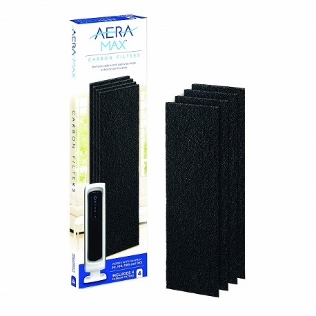 Fellowes AeraMax™ DX5 Carbon Filter Small - 4 Pack Black