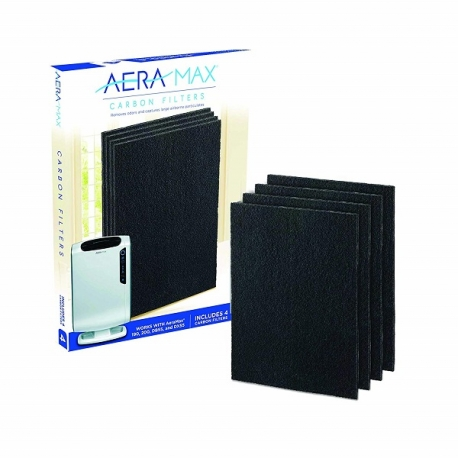 Fellowes AeraMax™ DX55 Carbon Filter Medium - 4 Pack Black