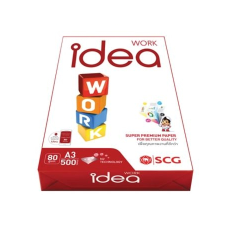Idea Work Super Premium Copy Paper A3 80gsm