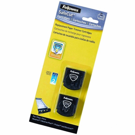 Fellowes SafeCut 5411401 Replacement Blades - 2 Straight
