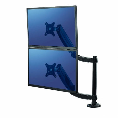 Fellowes 8043401 Platinum Series Dual Stacking Monitor Arm