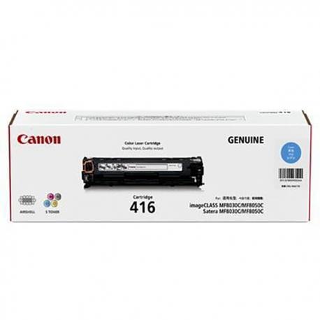 Canon 416 Toner Cartridge Cyan