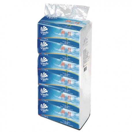 """Vinda """"new generation"""" 2-ply Facial Tissue 6 packs"""