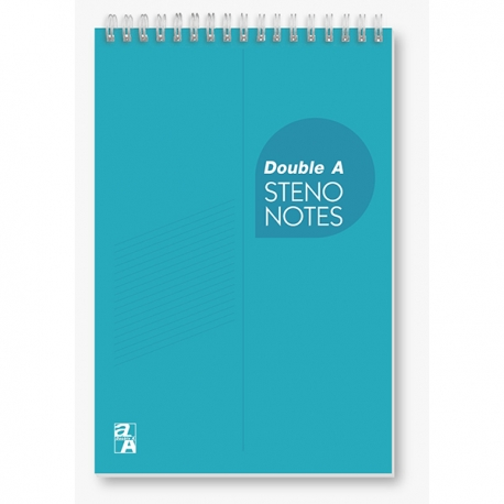 "Double A Shorthand Book A5 6""x9"" 80Pages"