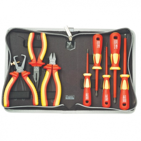 Prokits PK-2801 1000V Insulated Screwdriver& Plier Set