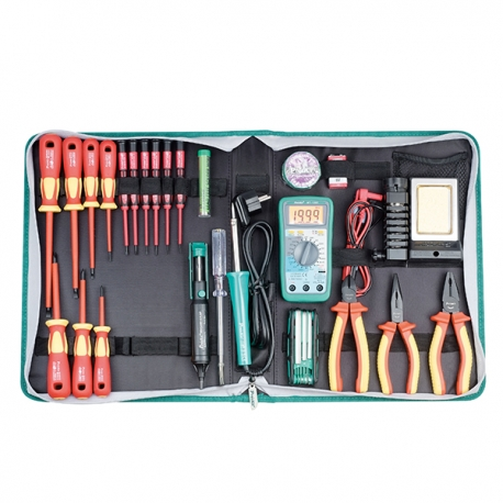 Prokits PK-2803BM 1000V Hi-Insulated Tool Kit 220V (Metric)