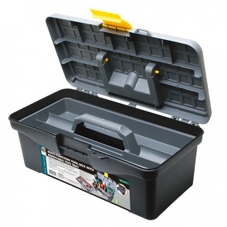 Prokits SB-3218 Multi-function Tool Box with Removable Tobe Tray (O.D.:315x175x130mm)