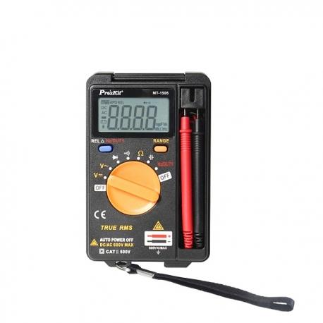 Pro'sKit MT-1506 3 3/4 Pocket True-RMS Auto Range Multimeter