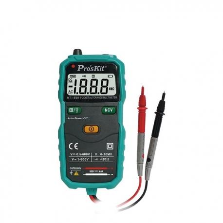 Pro'sKit MT-1509袖珍型自動電錶,不附電池