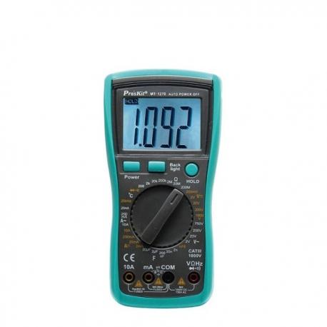 Pro'sKit MT-1270 3 1/2 Digital Multimeter