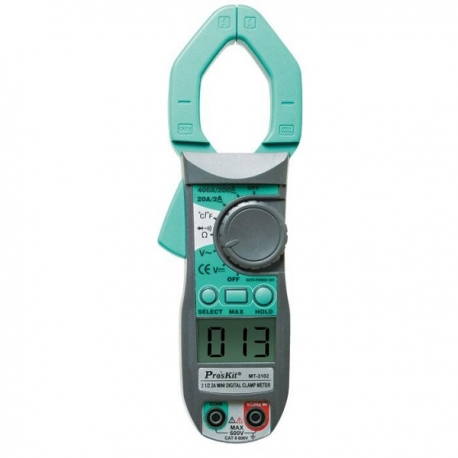 Pro'sKit MT-3102 3 1/2 2A迷你鉤錶.附溫度測試