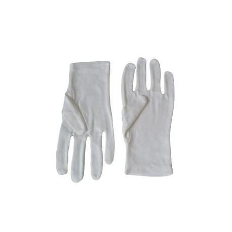 女裝綿質手套 白色 12對