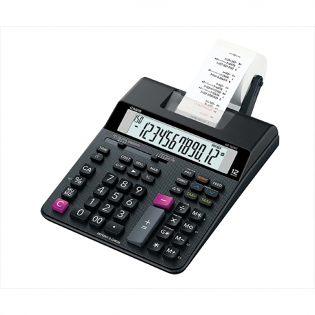 Casio HR-150RC 2-color Print Calculator 12 Digits