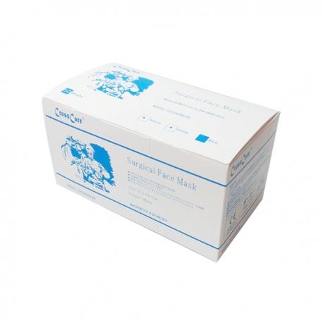 Cross Care Premier 過濾成人口罩 掛耳 3層 50個獨立包裝