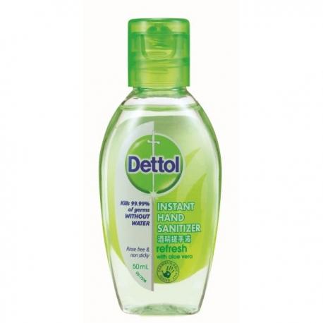 Dettol Hand Sanitizer Aloe Vera 50ml