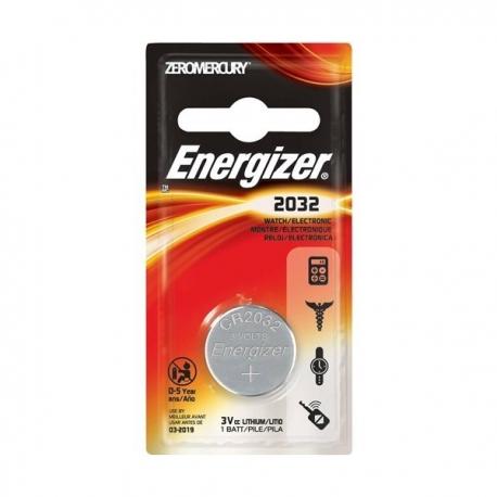 Energizer CR2032 Lithium Battery 3V