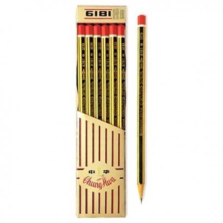 中華牌 6181 鉛筆 12支
