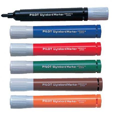百樂牌 WBMAR-M 白板筆 黑色/藍色/啡色/綠色/橙色/紅色
