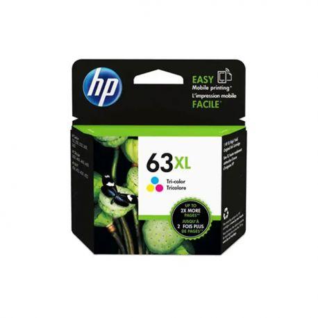 HP 惠普 F6U63AA 63XL 高打印量油墨盒 三色