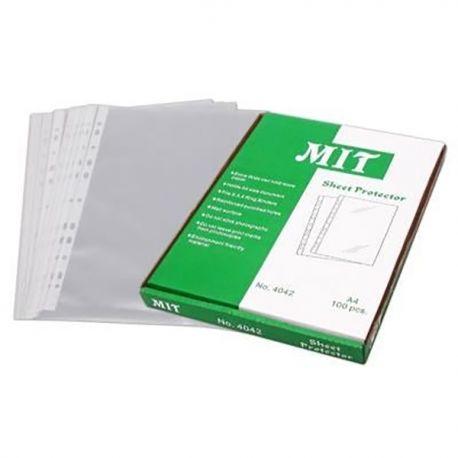 MIT 4042 文件保護套 A4 0.08毫米 100個