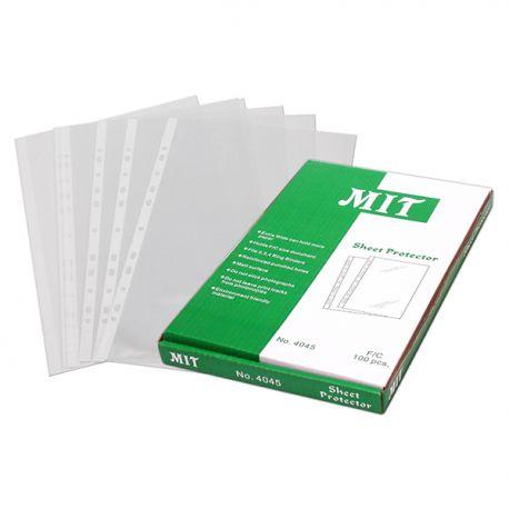 MIT 4045 文件保護套 F4 0.08毫米 100個