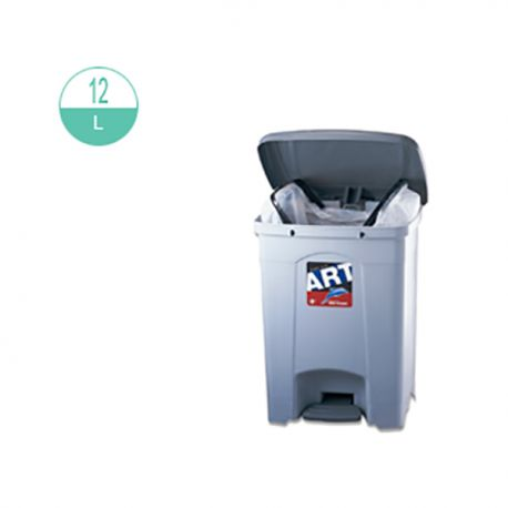 426 Step On Rubbish Bin 12Litre