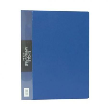 Database NC-612 Single Spring File A4 Black/Blue