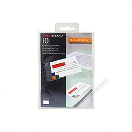 Self-Ad 10108 Bussiness Card Pocket 60mmx95mm 10's