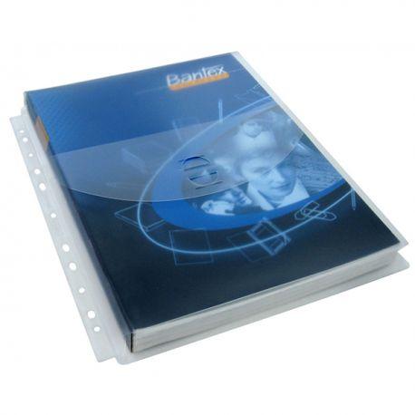 辦得事 12013 08 文件保護套 A4 0.22亳米 1吋闊 5個 有蓋
