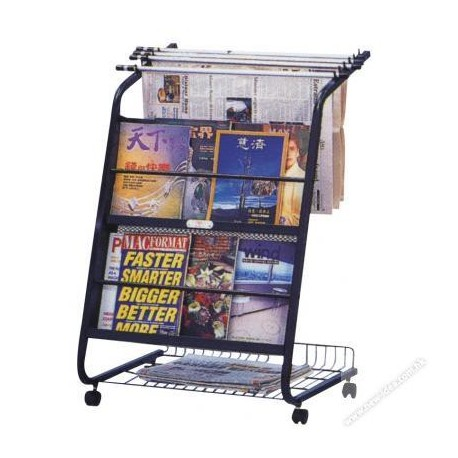 CYS-102 Newspaper & Book Rack