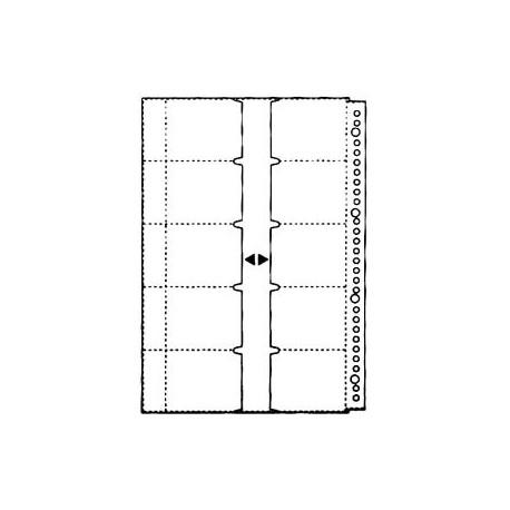 Comix TE233A Refillable Name Card Holder Refill A4 14Sheets