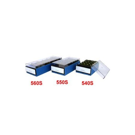 Manok 550 名片盒 600片 藍色