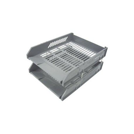 HR-223 Double Layer Document Tray A4 Grey
