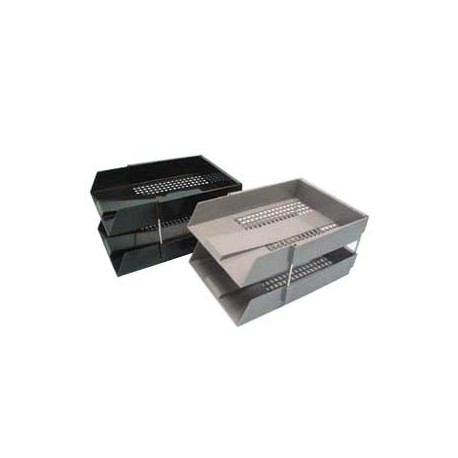 304-15 Double Layer Document Tray F4 Black