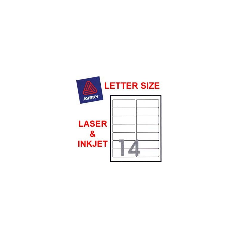 Avery 5662 Mailing Labels 339mmnx108mm 700s Clear
