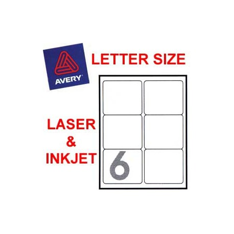 Avery 5164 Mailing Labels 84.7mmx101.6mm 600's White